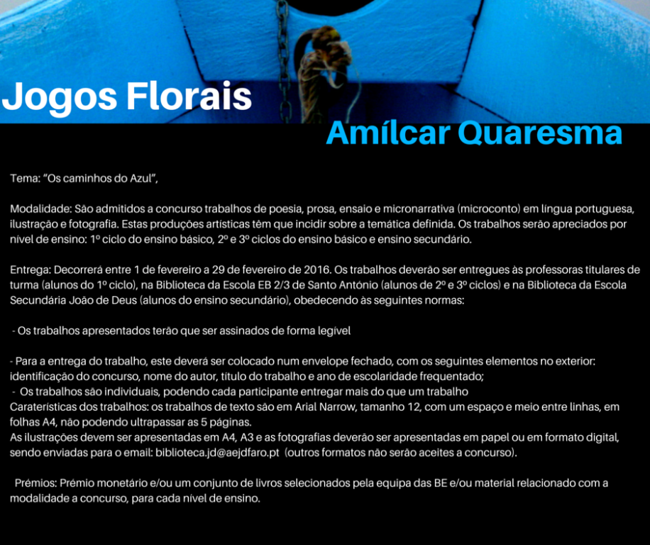 regulamento jogos florais